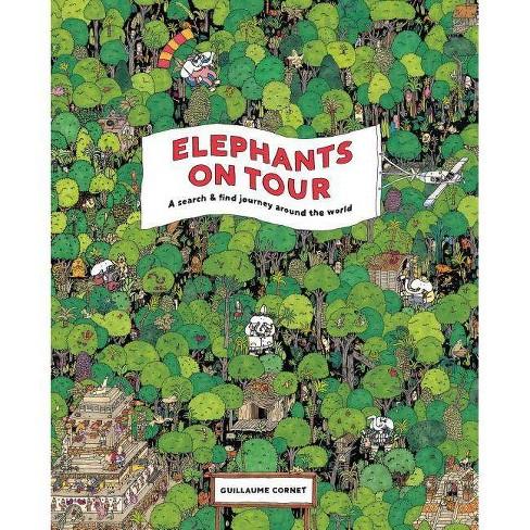 Elephants on Tour - (Hardcover) - image 1 of 1