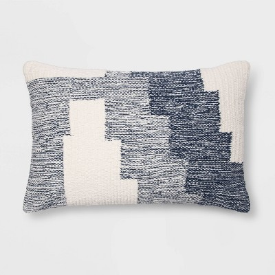 Modern Tufted Geometric Lumbar Throw Pillow - Project 62™