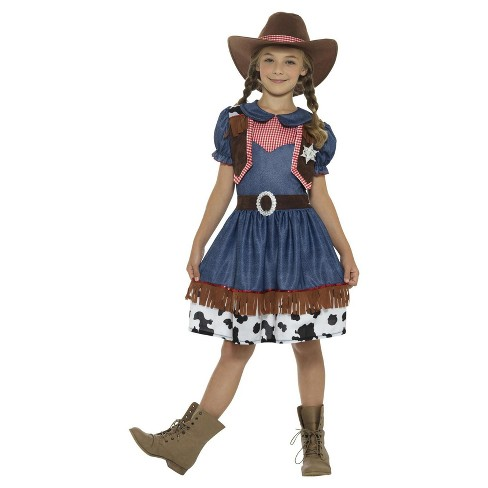 Kids' Texan Cowgirl Costume - image 1 of 1