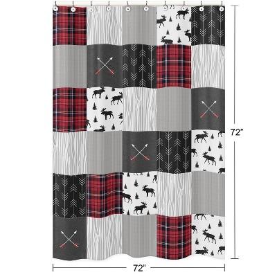 Rustic Shower Curtain - Sweet Jojo Designs