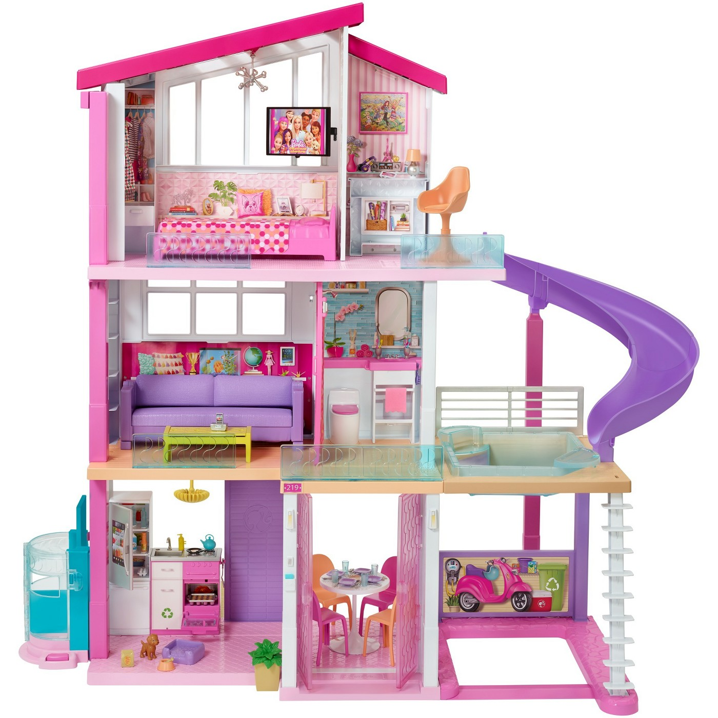Barbie Dreamhouse Playset - image 1 of 20