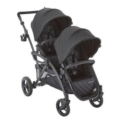 Contours Options Elite V2 Tandem Stroller - Carbon Colorway