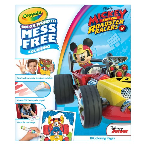 Crayola Color Wonder Coloring Kit Mickey Mouse Roadster Target