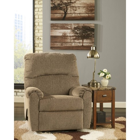 Signature Design By Ashley Pranit Wall Hugger Recliner In Chenille - Flash Furniture - image 1 of 3