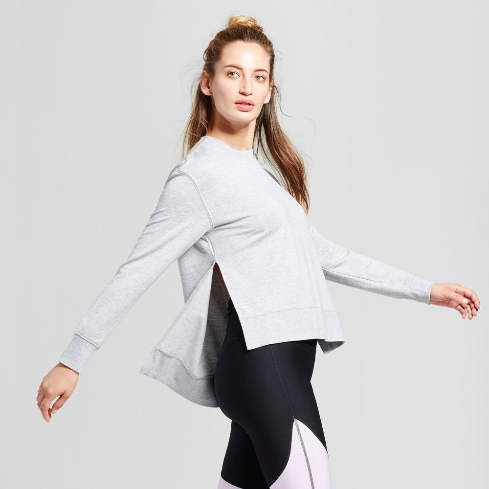 Women's Cozy Layering Sweatshirt - JoyLab Heather Gray S
