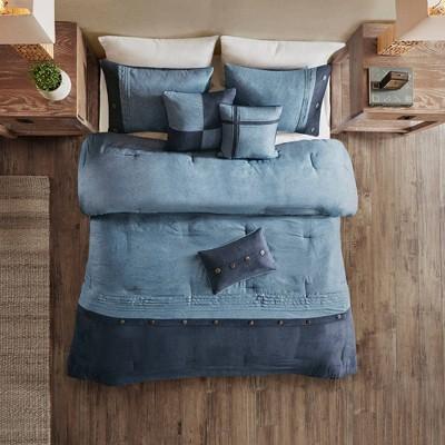 Powell Printed Comforter Set 7pc
