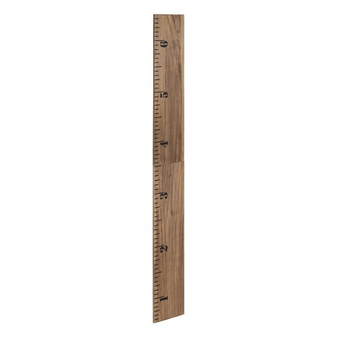 Kate Laurel 72x8 Growth Wall Ruler Growth Chart Wood Target
