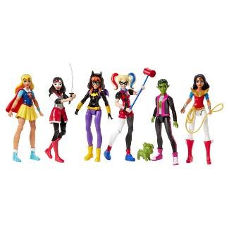 DC Super Hero Girls Action Figure 6pk