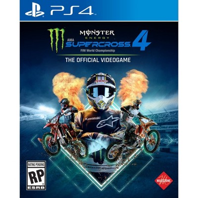 Monster Energy Supercross 4: The Official Video Game - PlayStation 4