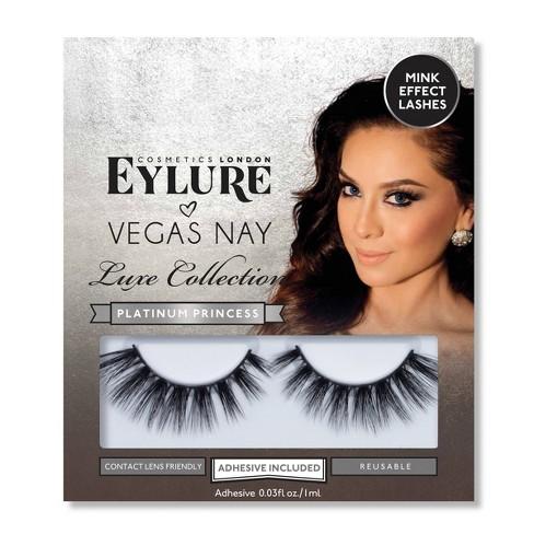558050c14c8 Eylure False Eyelashes Vegas Nay Luxe Collection Platinum Princess - 1pr :  Target
