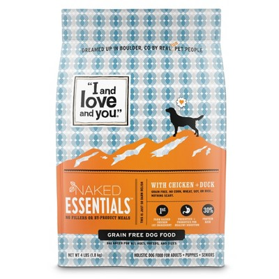 I and Love and You Naked Essentials Grain Free with Chicken & Duck Holistic Dry Dog Food