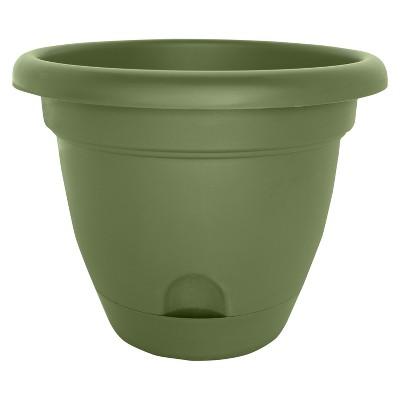 10  Lucca Self Watering Planter - Living Green - Bloem