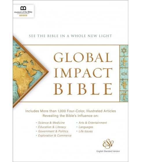 Global Impact Bible : See the Bible in a Whole New Light (Hardcover) - image 1 of 1