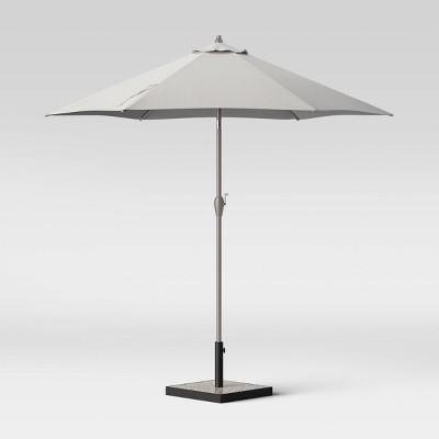 9' Round Patio Umbrella DuraSeason Fabric™ - Ash Pole - Project 62™