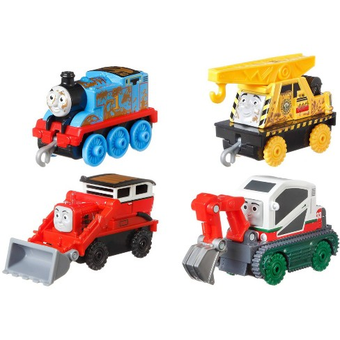 Fisher-Price Thomas & Friends Fall Themed Push Along 4pk - image 1 of 4
