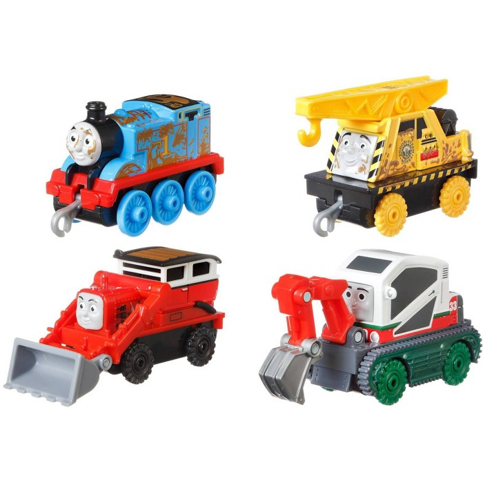 Fisher-Price Thomas & Friends Fall Themed Push Along 4pk - image 1 of 7