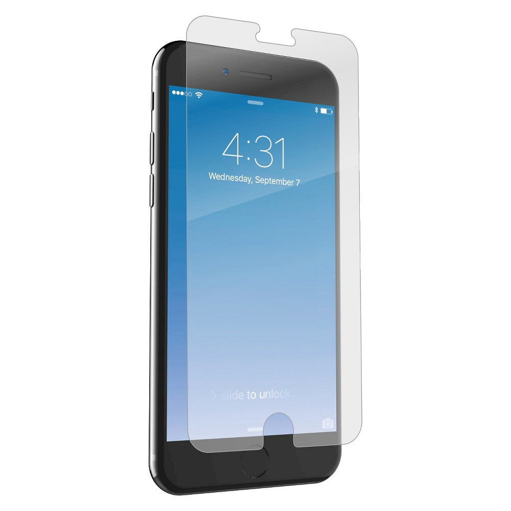 Zagg Apple iPhone 7 Plus/6s Plus/6 Plus Glass Screen Protector, Clear