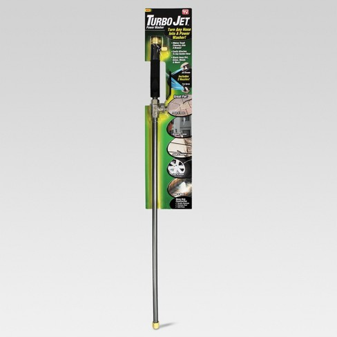 """80psi Turbo Jet Power Washer 29.5"""" - Steel - As Seen on TV - image 1 of 3"""