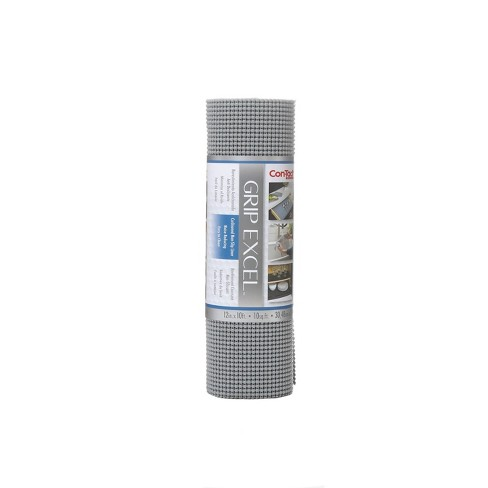 Con-Tact Brand Excel Grip Non-Adhesive Shelf Liner - Alloy Gray (12''x10') - image 1 of 4