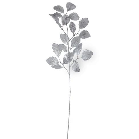 "Northlight 29.5"" Metallic Silver Artificial Spring Spray - image 1 of 1"