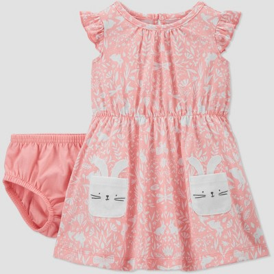 Baby Girls' Bunny Dresses - Just One You® made by carter's Pink