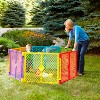 Toddleroo By North States Superyard Colorplay 6 Panel Freestanding Gate - image 4 of 4