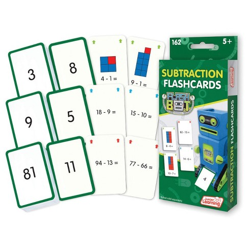 Junior Learning® Math Flashcards - Subtraction - image 1 of 1