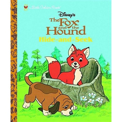 The Fox and the Hound - (Little Golden Books (Random House))(Hardcover)