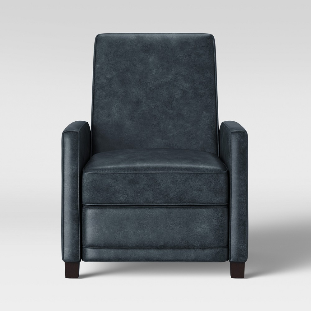 Starkey Modern Push Back Recliner Faux Leather Gray - Project 62