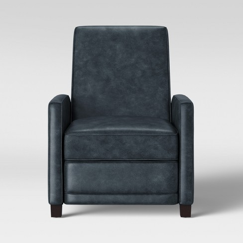 Starkey Modern Push Back Recliner Faux Leather Gray - Project 62™ - image 1 of 5