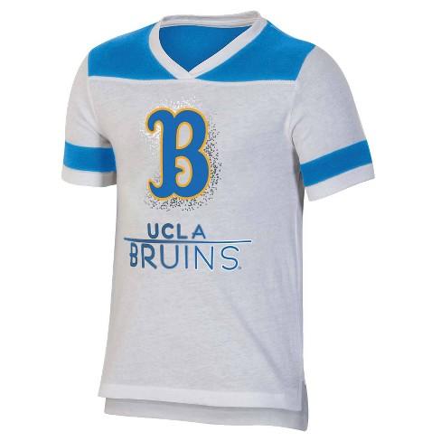 NCAA UCLA Bruins Girls' Short Sleeve V-Neck T-Shirt - image 1 of 2