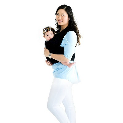 Happy! Wrap Organic Baby Carrier Black
