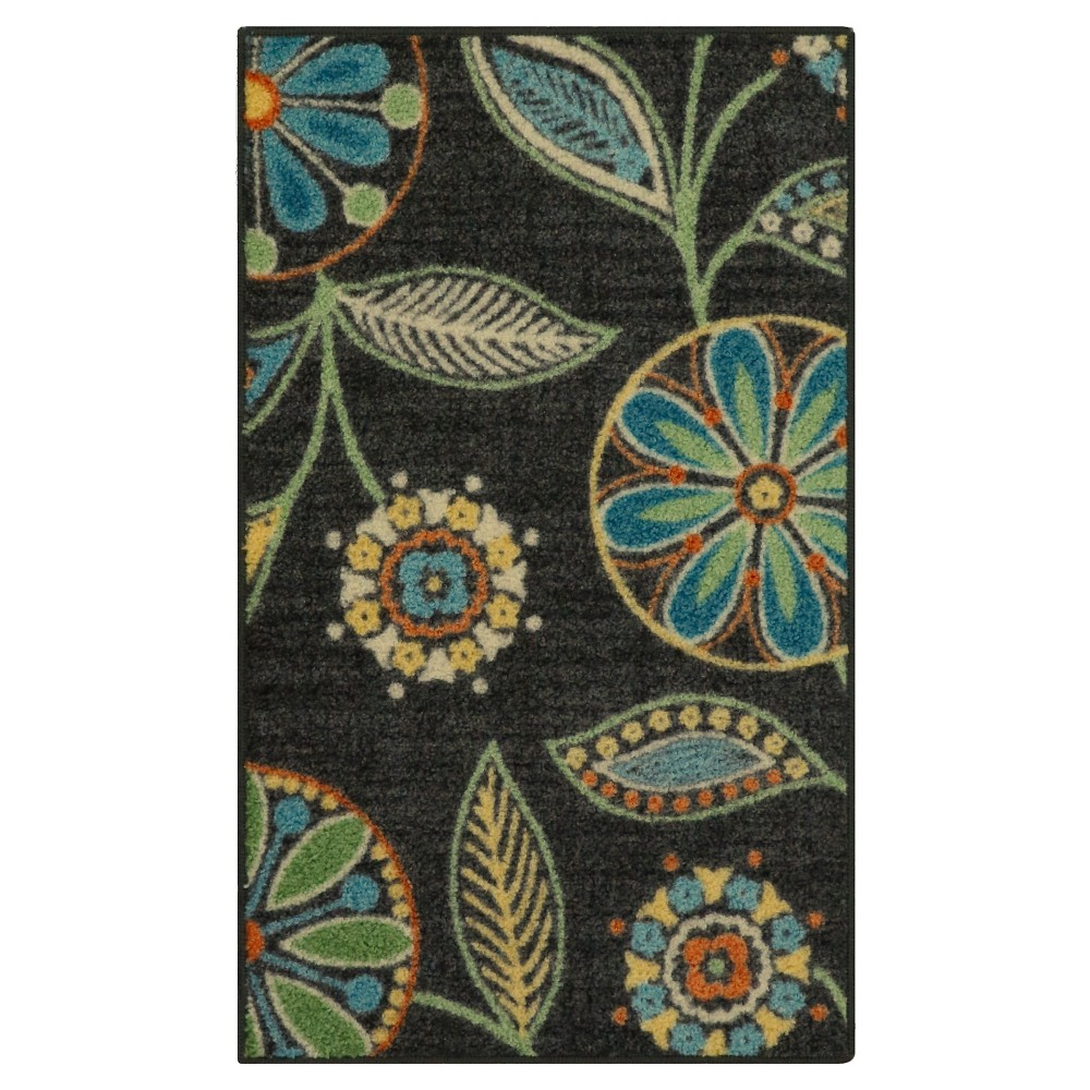 Floral Tufted Accent Rug