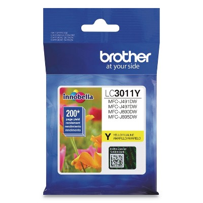 Brother LC3011Y Ink, Yellow