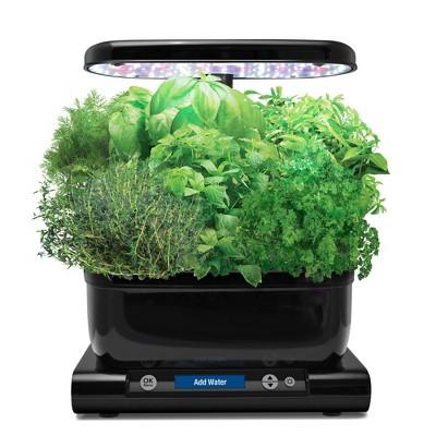 Miracle-Gro AeroGarden Harvest w/Gourmet Herb Seed Pod Kit Black 3pc 901070-1200