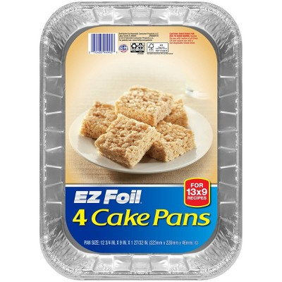 Hefty EZ Foil Cake Pans - 4ct