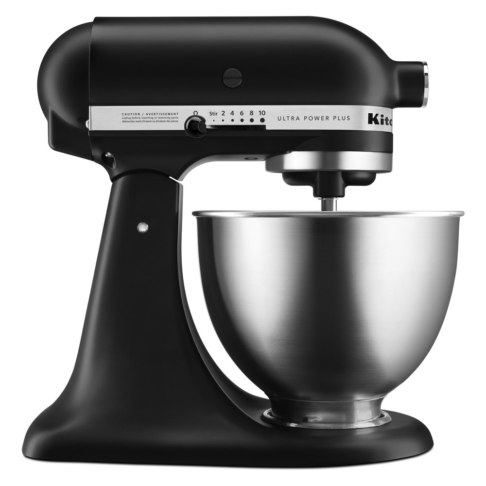 KitchenAid Ultra Power Plus 4.5qt Tilt-Head Stand Mixer – Matte Black KSM96 53658813