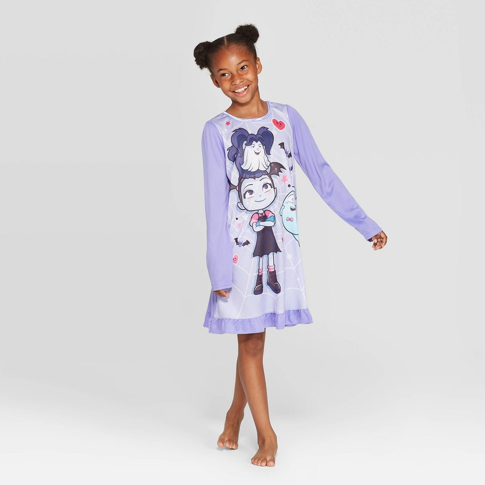 Image of Girls' Vampirina Dorm Nightgown - Purple 10, Girl's