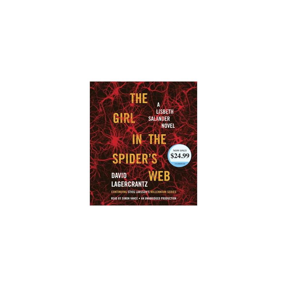 Girl in the Spider's Web (Unabridged) (CD/Spoken Word) (David Lagercrantz)