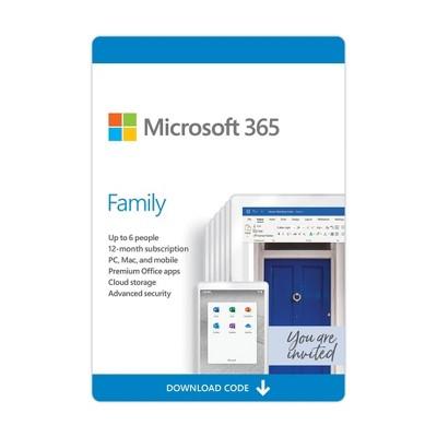 Microsoft Office 365 Family (Digital)