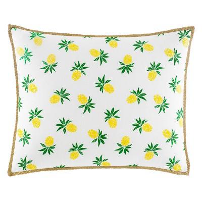 Yellow Fruit Throw Pillow - Nine Palms
