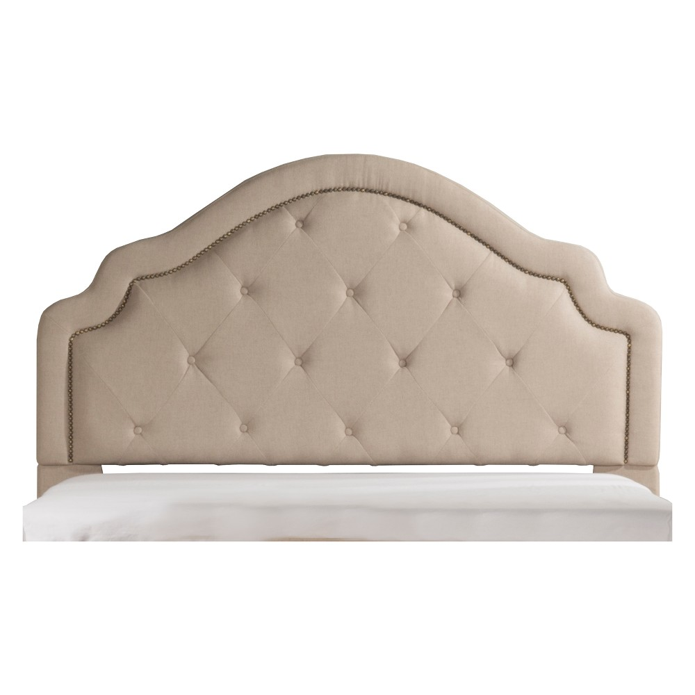 Belize Upholstered Headboard Queen Headboard Frame Included Natural - Hillsdale Furniture