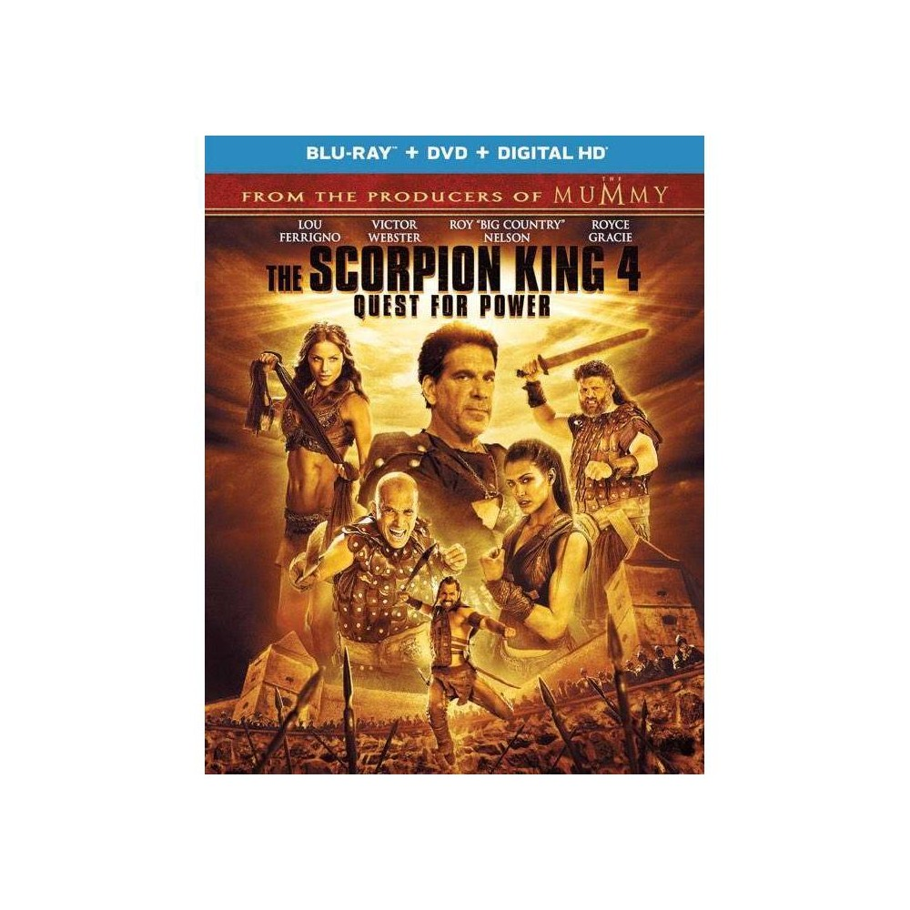 The Scorpion King 4 Quest For Power Blu Ray 2015