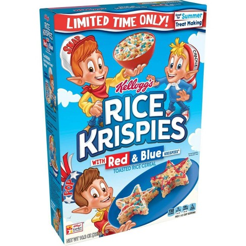 Rice Krispies - Red & Blue Breakfast Cereal - 9.9oz - Kellogg's - image 1 of 4