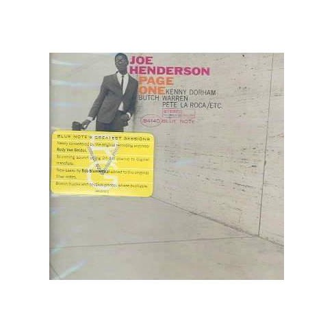 Joe Henderson - Page One (Remaster) (CD) - image 1 of 1