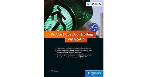 Product Cost Controlling With Sap (Hardcover) (John Jordan) - image 1 of 1