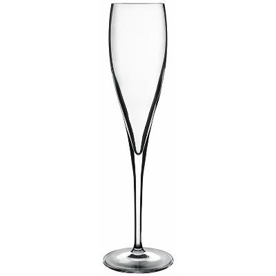 Luigi Bormioli Vinoteque Perlage 6 Ounce Glass Champagne Flute, Set of 6