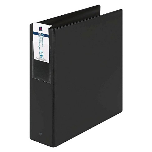 "Avery® Economy Non-View Binder with Round Rings, 11 x 8 1/2, 3"" Capacity, Black - image 1 of 1"