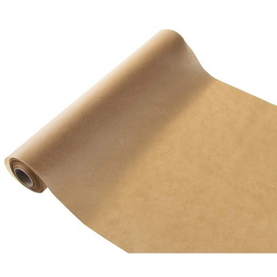"""Juvale Unbleached Parchment Paper Roll for Baking, Brown, 15"""" x 164 ft."""