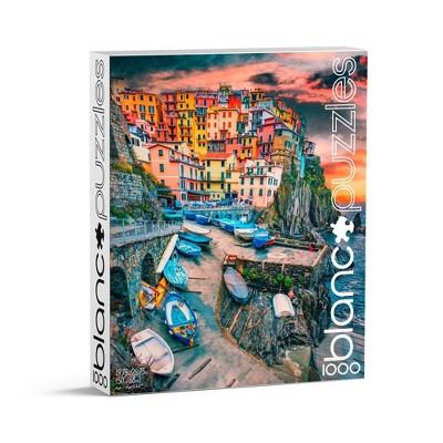 blanc Cinque Terre Skies Jigsaw Puzzle - 1000pc